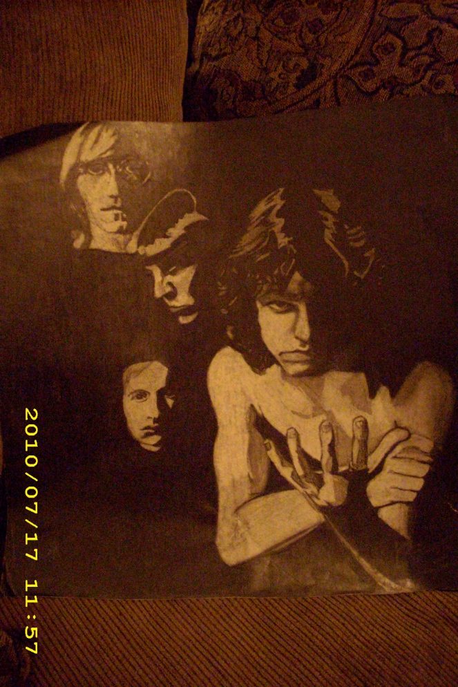 The Doors : Reverse drawing